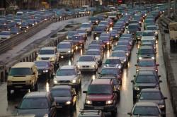 Трудное определение скорости определенной машины  в потоке машин