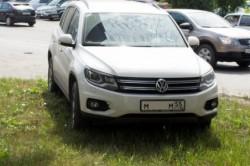 Незаконность парковки на газоне