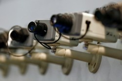 Фиксация ДТП на камеры наблюдения